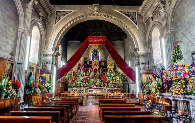 San Lorenzo Church in Zinacantan